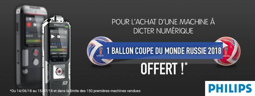 Philips vous offre un Ballon Coupe du Monde 2018* !