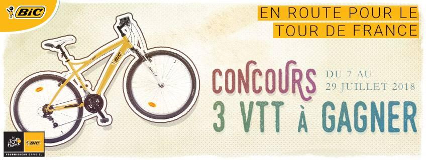 3 vélos à gagner pour le Tour de France 2018 !
