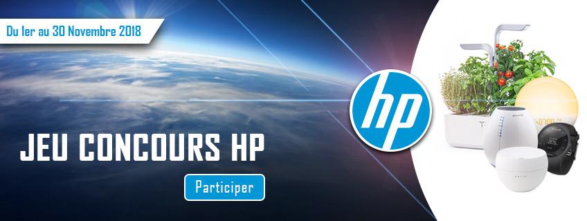 Concours : HP Aide la planète
