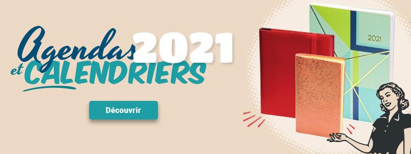 Les agendas 2021 sont là !