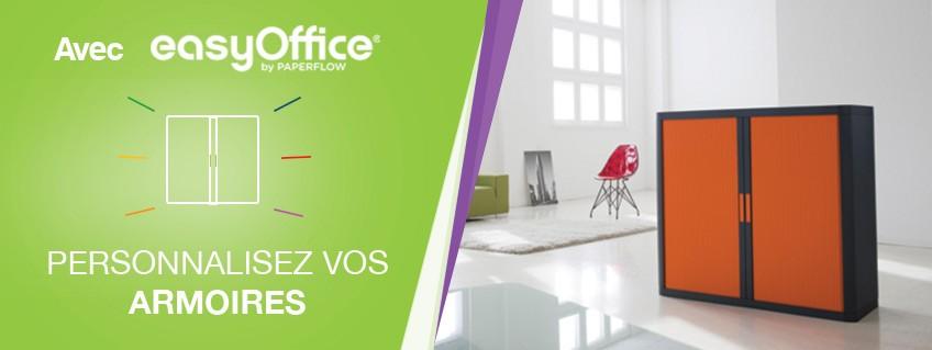 Personnalisez vos armoires EasyOffice