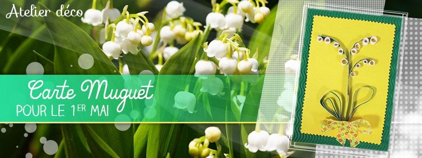 Carte Muguet pour le 1er mai