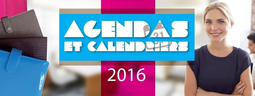 Agendas et Calendriers 2016