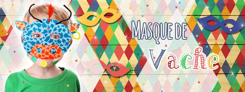 Fabriquez votre Masque de Vache pour Mardi Gras !