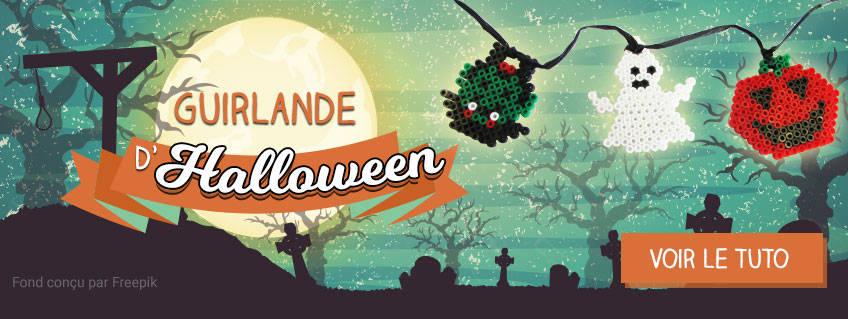 Idée déco Halloween : fabriquez une guirlande !