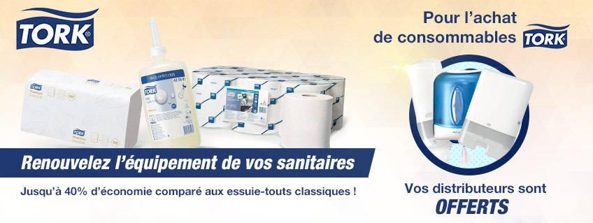 Renouvelez vos équipements sanitaires