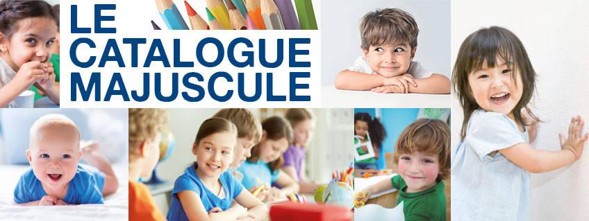 Découvrez le Catalogue MAJUSCULE scolaire 2017 !