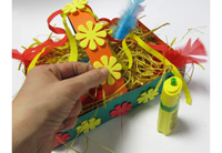 Etape 7 Atelier panier de paques