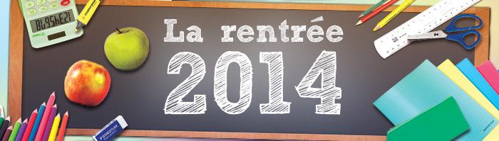 rentrée 2014