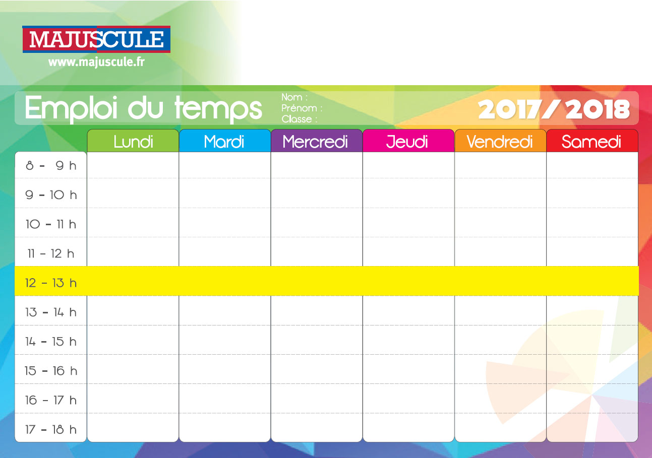 College Planning Emploi Du Temps Calendrier Vacances Site Institutionnel