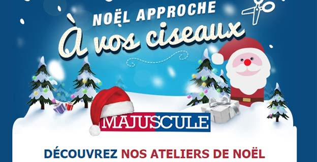 Noël approche, à vos ciseaux !