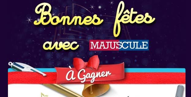Bonnes fêtes avec MAJUSCULE ! 2015