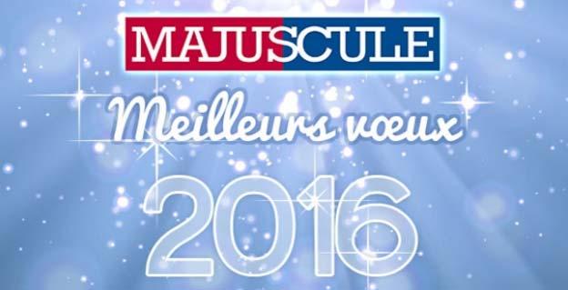 Meilleurs Vœux 2016 !