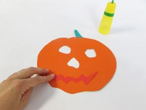 Masque de citrouille Halloween étape 2-2