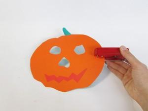 Masque de citrouille Halloween étape 3-1