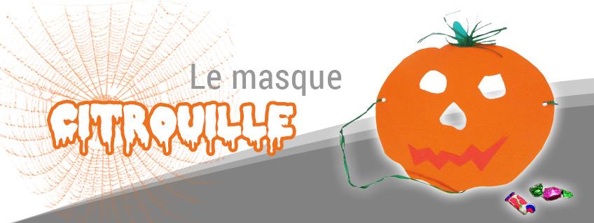 Masque de Citrouille Halloween