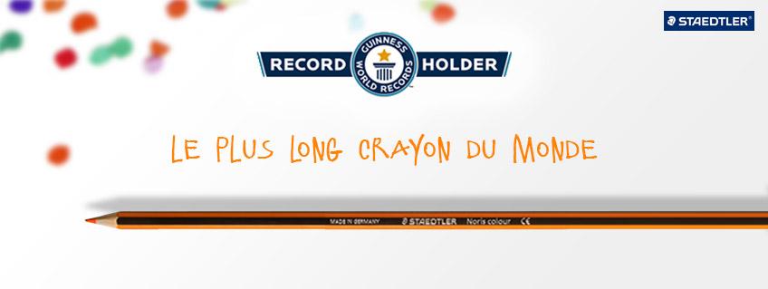 Record du Monde STAEDTLER