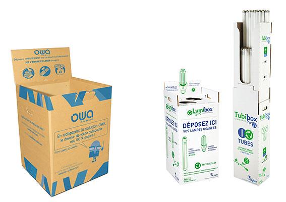 Recyclage cartouches, ampoules et tubes