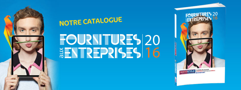 2015 site institutionnel majuscule for Fourniture bureau catalogue