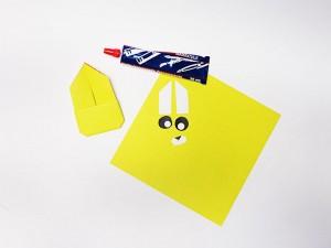 Boîte à œufs décorée : étape 5-1