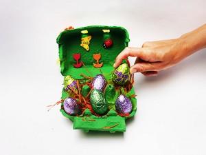 Boîte à œufs décorée : étape 8-3