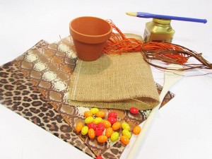 Djembé Cuillère décorés : matériel