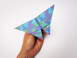 Mobile papillons : étape 7-2