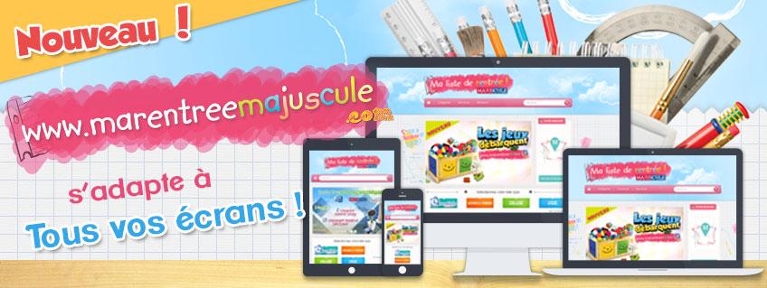 www.marentree.majuscule.com s'adapte à tous vos écrans !
