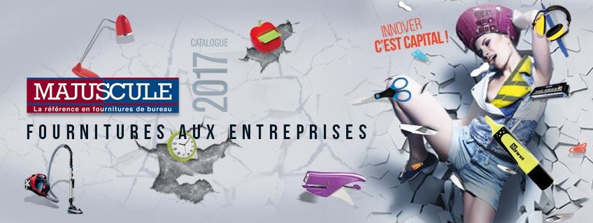 Catalogue MAJUSCULE Fournitures aux Entreprises 2017