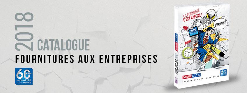 La catalogue fournitures aux entreprises 2018 site for Catalogue bureau