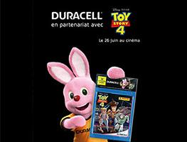 Duracell Toy Story 4 - Obtenez des pack d'images Panini